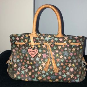 New Dooney & Bourke heart coated leather bag